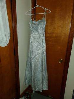 Queenly size 8 B. Smart Silver Ball gown evening gown/formal dress