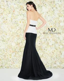 Style 25303 Mac Duggal Multicolor Size 14 Mermaid Dress on Queenly