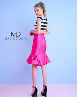 Style 30117 Mac Duggal Pink Size 4 Two Piece Cocktail Dress on Queenly