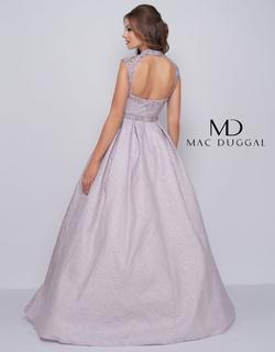 Style 40885 Mac Duggal Purple Size 8 Lilac Backless Pageant Ball gown on Queenly