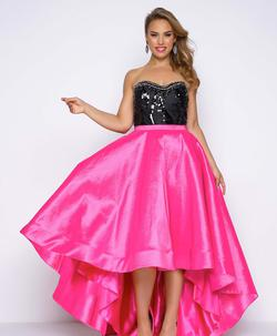 Queenly size 14 Mac Duggal Pink Ball gown evening gown/formal dress