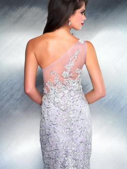 Style 78733 Mac Duggal Purple Size 10 One Shoulder Lavender Pageant A-line Dress on Queenly
