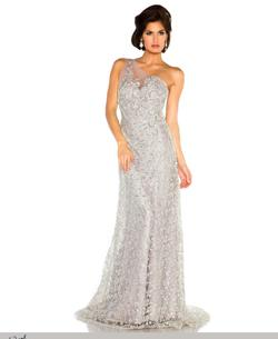 Style 78733 Mac Duggal Purple Size 10 Lavender One Shoulder Prom A-line Dress on Queenly