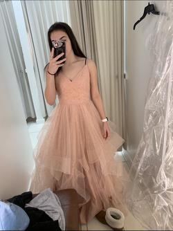 Queenly size 2 Camille La Vie Pink Ball gown evening gown/formal dress