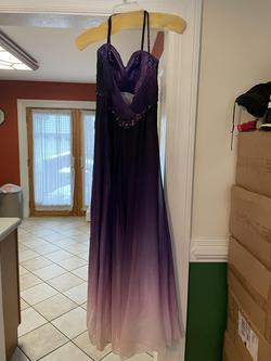 Jessica McClintock Purple Size 0 Sweetheart Prom Straight Dress on Queenly