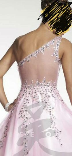 Tiffany Designs Pink Size 4 Studio 17 Ball gown on Queenly