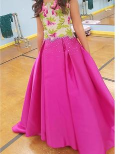 Queenly size 00 Jovani Pink Ball gown evening gown/formal dress