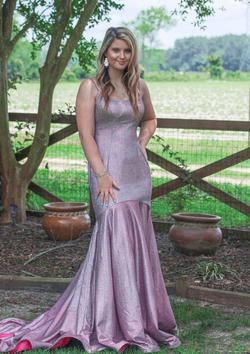 Queenly size 8  Pink Mermaid evening gown/formal dress