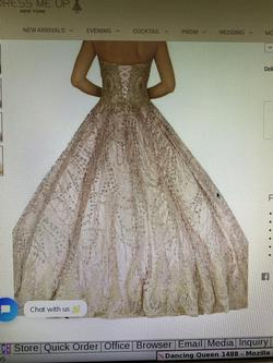 Dancing Queen Red Size 2 Quinceanera Sweetheart Corset Ball gown on Queenly