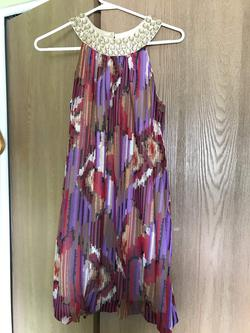 Queenly size 0  Multicolor Cocktail evening gown/formal dress