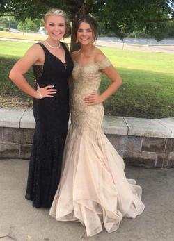 Sherri Hill Gold Size 2 Prom Pageant Mermaid Dress on Queenly