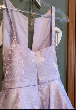 Style 51703 Sherri Hill Light Purple Size 00 Lavender Ball gown on Queenly