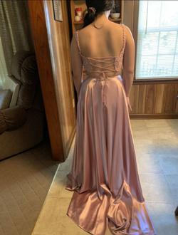 Sherri Hill Pink Size 0 Prom Two Piece Side slit Dress on Queenly