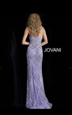 Jovani Light Purple Size 6 Prom Lavender Straight Dress on Queenly