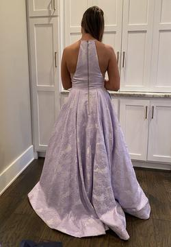 Sherri Hill Purple Size 6 Prom Ball gown on Queenly
