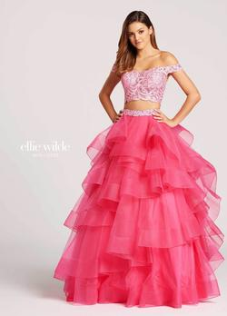 Queenly size 8 Alyce Pink Ball gown evening gown/formal dress