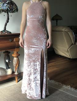 Xscape Pink Size 0 Backless Straight Dress on Queenly