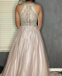 Terani Couture Light Pink Size 8 Ball gown on Queenly