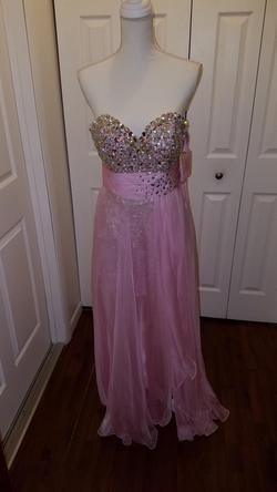 Blush Prom Pink Size 8 Prom A-line Dress on Queenly