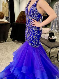 Vienna Blue Size 2 Lavender Purple Mermaid Dress on Queenly