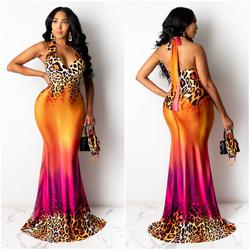 Queenly size 12  Multicolor Ball gown evening gown/formal dress