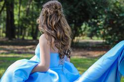 Sherri Hill Blue Size 0 Pageant Ball gown on Queenly