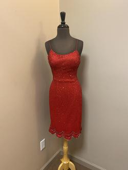 Riva Designs Red Size 6 Homecoming Cocktail Dress on Queenly