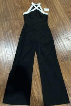 Black Size 2 Jumpsuit Dress on Queenly