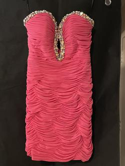 Alyce Paris Pink Size 4 Sweetheart Cocktail Dress on Queenly