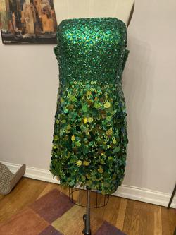 Queenly size 14 Diva Courture Green Cocktail evening gown/formal dress