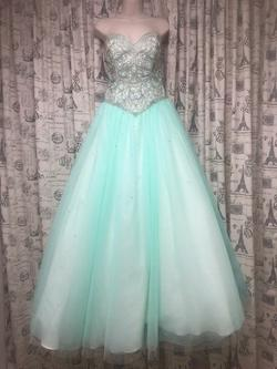 Dimitri Designs Blue Size 6 Ball gown on Queenly