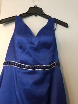 Blue Size 10 Mermaid Dress on Queenly