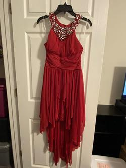 Queenly size 8  Red Cocktail evening gown/formal dress