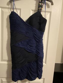 Queenly size 8  Blue Cocktail evening gown/formal dress