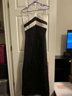Queenly size 10  Black Cocktail evening gown/formal dress