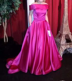 Ashley Lauren Pink Size 0 Pageant Medium Height A-line Dress on Queenly