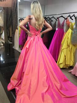 Sherri Hill Pink Size 00 Pageant Train Dress on Queenly