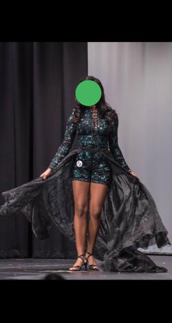 Mac Duggal Green Size 8 Pageant Cocktail Dress on Queenly