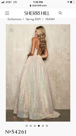 Sherri Hill Multicolor Size 2 Shiny Prom Pockets Ball gown on Queenly