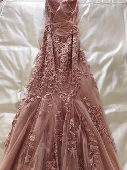 Pink Size 0 Train Dress on Queenly
