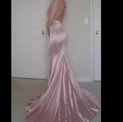 Queenly size 2 Portia & Scarlett Pink Train evening gown/formal dress