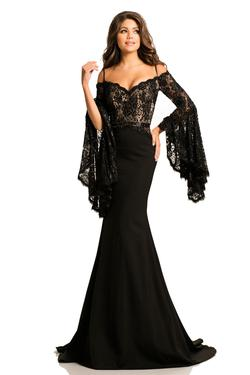 Johnathan Kayne  Black Size 0 Train Straight Dress on Queenly