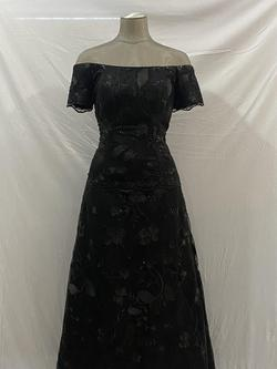 Queenly size 12 Zola Keller Black A-line evening gown/formal dress