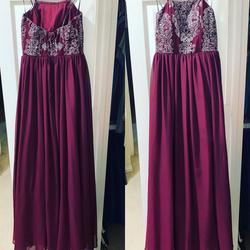 Speechless Multicolor Size 0 Straight Dress on Queenly
