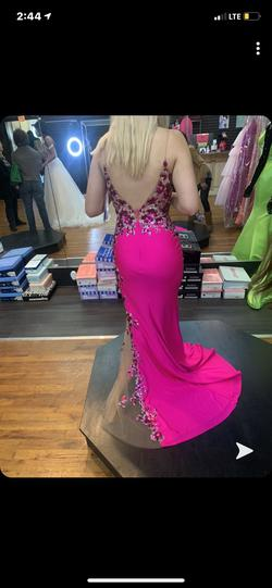 Panoply Designs Pink Size 0 Jewelled Mermaid Dress on Queenly