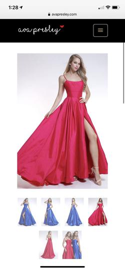 Ava Presley Pink Size 4 Tall Height Side slit Dress on Queenly