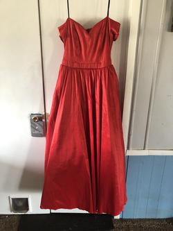 B. Darlin Red Size 16 Ball gown on Queenly