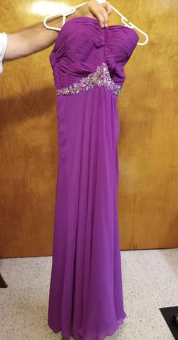 Purple Size 18 Straight Dress on Queenly