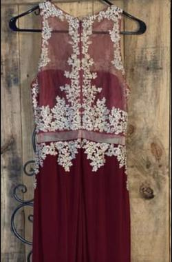 Red Size 6 Mermaid Dress on Queenly