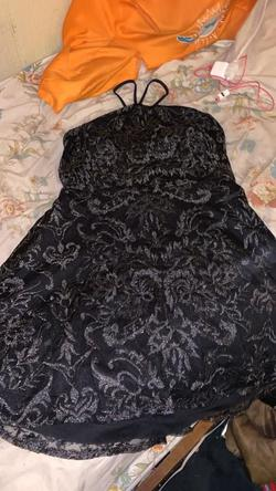 Queenly size 20  Black Cocktail evening gown/formal dress